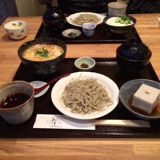 蕎麦づくし膳(樹庵 (きあん))