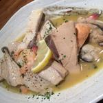 魚介のペペロンチーニ
