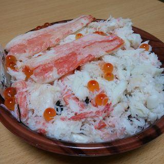 かに丼(魚幸水産 (ウオコウスイサン))