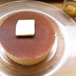 発酵バター蜜柑蜂蜜を添えて 発酵バター蜜柑蜂蜜を添えて(雪ノ下銀座 )