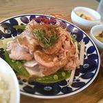霧島豚と春野菜の温しゃぶ