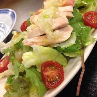 蒸し鶏サラダ(なかちゃん )