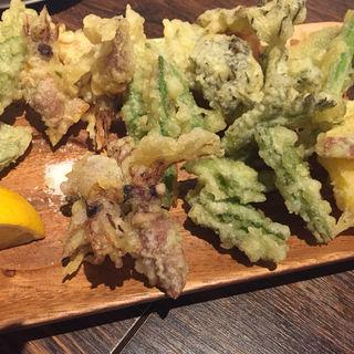 ホタルいかと春野菜のフリット(ヴェントフェリーチェ (Vento Felicie))