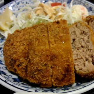 ジャンボメンチカツ定食(一亀 )