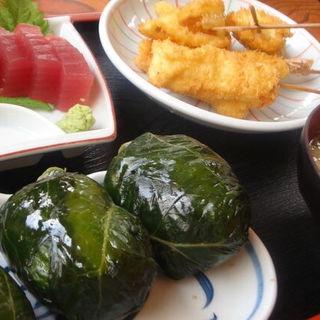 めはり定食(めはり寿司 二代目)