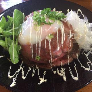 ローストビーフ丼(バランタイン )