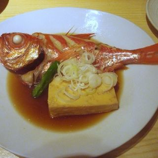 金目鯛の煮付け(魚の四文屋)