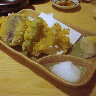 穴子の天ぷら(魚の四文屋)