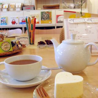 季節のチーズケーキ(ソングブックカフェ)