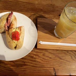 ハム&チーズサンド(CAFE KATEMAO (カフェ カテマオ))