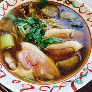 鴨南ばん(蕎麦切り 稲おか )