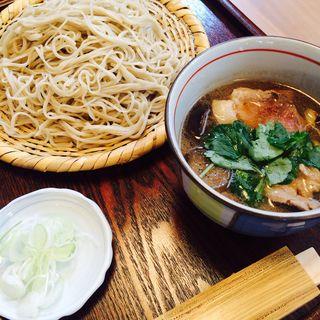 鴨せいろ(蕎麦切り 稲おか )