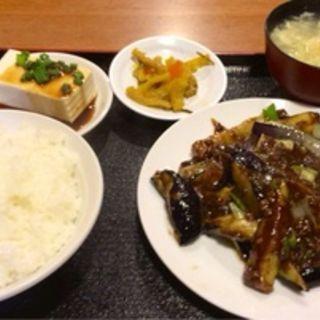 茄子味噌炒めセット(陳四海)