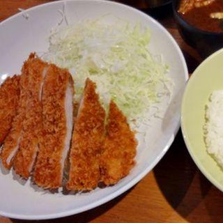 ロースかつ定食(はしや 岩本町店)