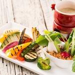 産地直送野菜のグリル バーニャカウダソース