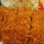 黒豚とんかつセット(ロース肉)