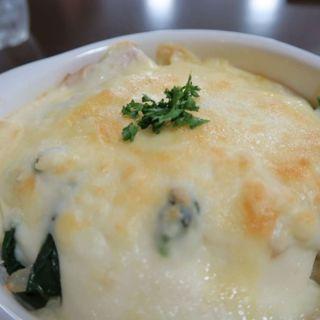 ターメリックライスのホウレン草チキンドリア(花cafe (ハナカフェ))