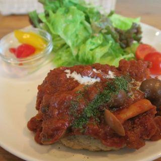 塩麹豆腐ハンバーグ(醗酵カフェ あおげん酵房)