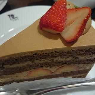 スペシャルチョコレートケーキ(りくろーおじさんの店 (新)なんば本店  )
