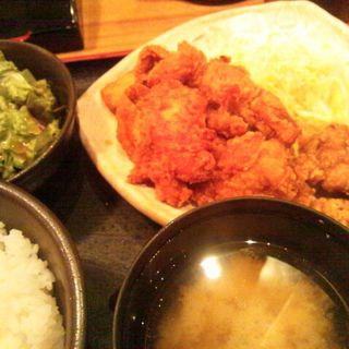鶏の唐揚げ明太風味定食(やまや 浜松町店 )