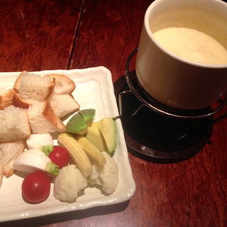 アボカドと季節の野菜のチーズフォンデュ(あさ山 (あさやま))