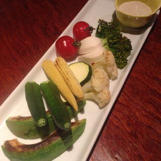 焼き野菜バーニャカウダ(あさ山 (あさやま))