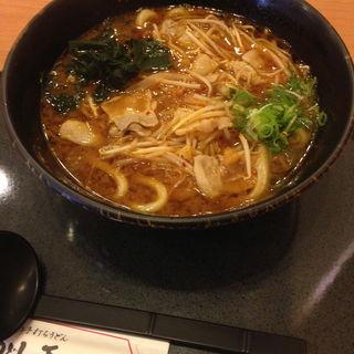 赤味噌うどん(うどん王 神戸住吉店 )