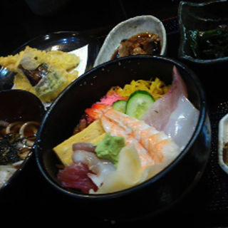 ちらし寿司セット(与八)