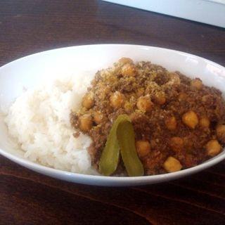 ひよこ豆のドライカレー(ロンパーチッチ (rompercicci))
