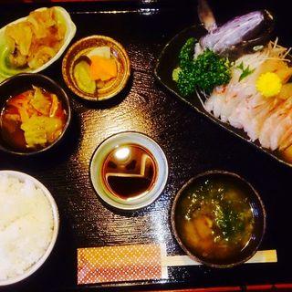 ムツのお刺身定食(The dining YOSA八右衛門 (ハチエモン))