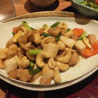 カシューナッツ炒め(左吉)