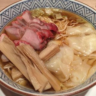 チャーシューワンタン麺(日本橋 よし町)