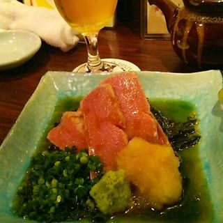 「斬」風本鮪のトロステーキ・山椒おろしだれ(斬 (ザン))