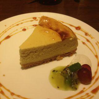 仙波豆腐のチーズケーキ(トライシクルカフェ)