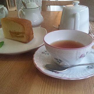 ケーキセット(紅茶専門店 Tea Holic (ティー ホリック))