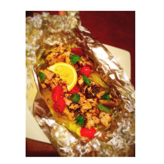 チキンの香草ホイル焼き(バルガモ (Bargamo))