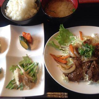 焼肉定食(八幡亭 )