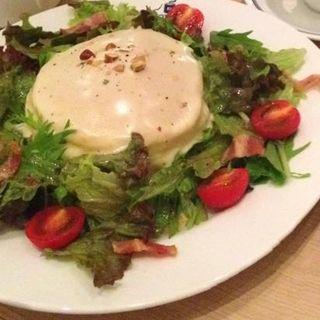 チーズフォンデュパンケーキ(ブラザーズカフェ なんば店 (BROTHERS Cafe))