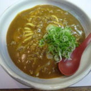 カレーうどん(五色うどん (ごしきうどん))