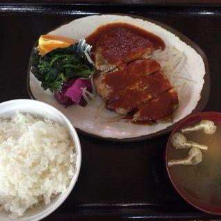 日替わりランチ ポークチョップ(朝昼晩 (アサヒルバン))