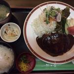 ハンバーグ定食(明日香 東加古川本店 )