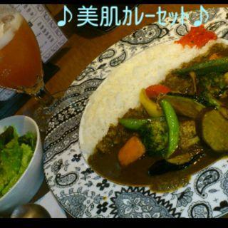 野菜カレーセット(BOSS (ボス))
