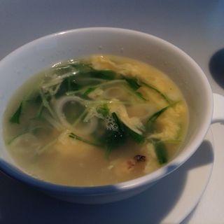 たまごと野菜のスープ(中国料理 桃李 ホテル日航大阪 )