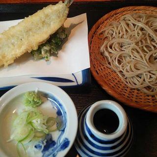 サヨリの天ぷらランチセット(なかやしき)