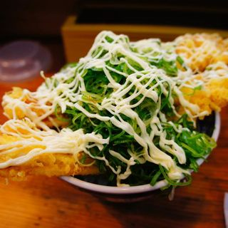 ねぎあなご丼+マヨネーズ(海鮮丼の駅前 元町店 )