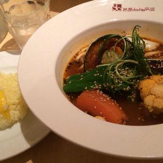 スープカレープレミアムベジタブル(イエローカンパニー 恵比寿本店 (YELLOW COMPANY))