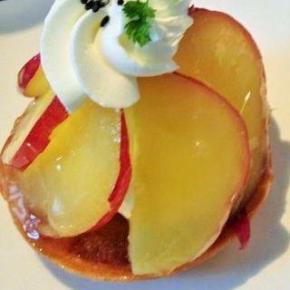 リンゴのケーキ(カフェ ド ガモヨン (café de GAMOYON))
