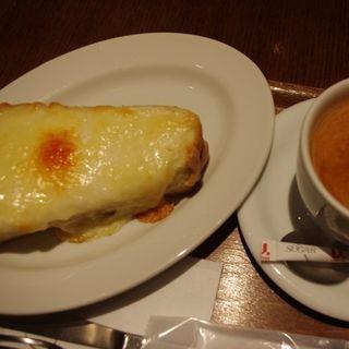 クロックムッシュ(イグ・カフェ ヒルトンプラザウエスト (ig cafe))
