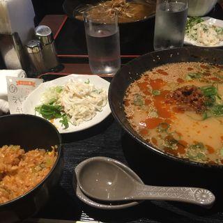 タンタンメンセット(中国酒菜 凛 (チュウゴクシュサイ リン))