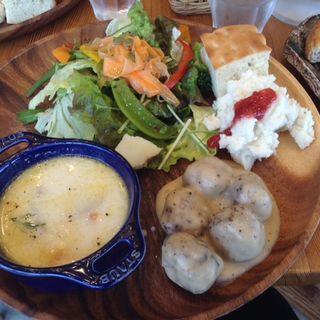 北欧プレート(Up Cafe)